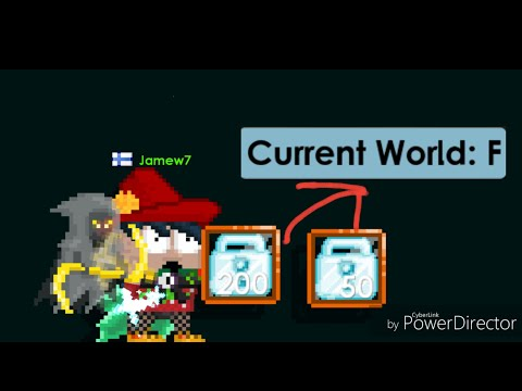 Growtopia - Buying World Name F For 250 DLs!