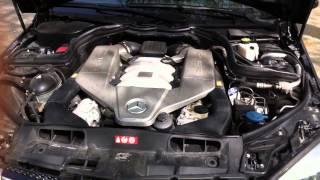 Moteur V8 Mercedes C63 AMG