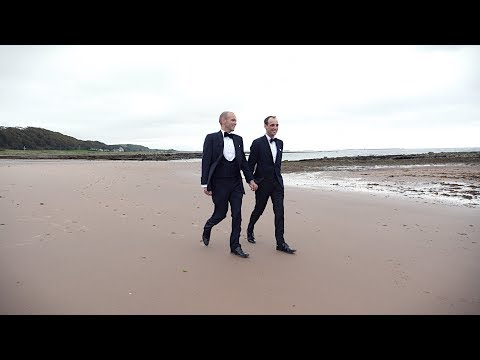 Chris & Andy's Wedding Day Highlights - The Waterside Hotel