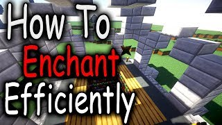 Hypixel Skyblock - How To Enchant Efficiently