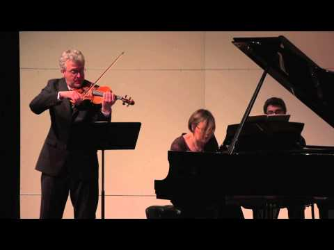 Martin Chalifour and Nadia Shpachenko perform Beethoven's Sonata in G Major, Op. 96