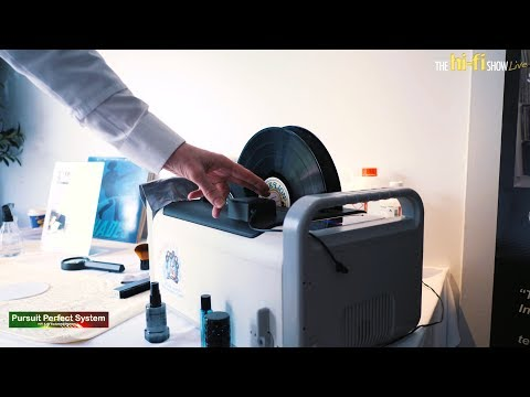 Ultrasonic Vinyl Restoration & Cleaning Demonstration Kirmuss Audio @ Hi-fi Show Live 2018