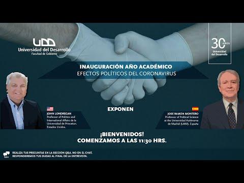 Inauguración año académico: seminario internacional efectos políticos del coronavirus