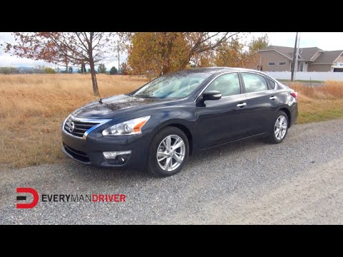 Review: 2015 Nissan Altima on Everyman Driver