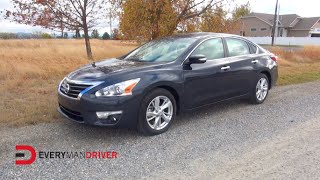 DETAILED Review   2015 Nissan Altima on Everyman Driver