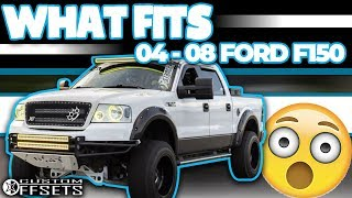 What Fits My 04-08 Ford F150