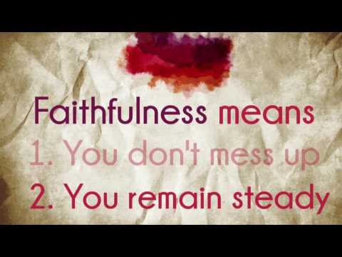 FOTS- Faithfullness- Pastor Matt Ulrich- June 19, 2016