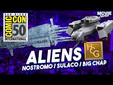 HCG Alien Nostromo And Sulaco