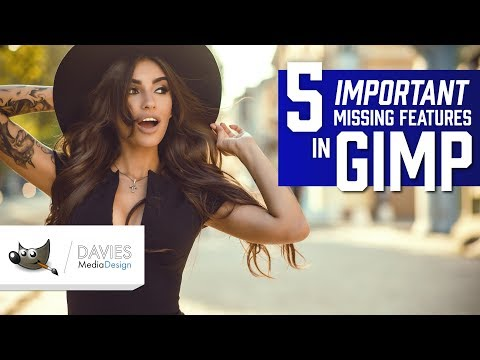 5 Important Features Missing in GIMP (2019) thumbnail