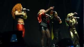 VIDA -  Lock Up Your Daughters -  JLS 4D Tour Manchester 30/3/12