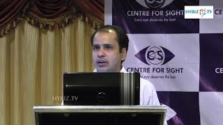 Raju kumar Centre For Sight Ocularist World Retinoblastoma Awareness - Hybiz.tv