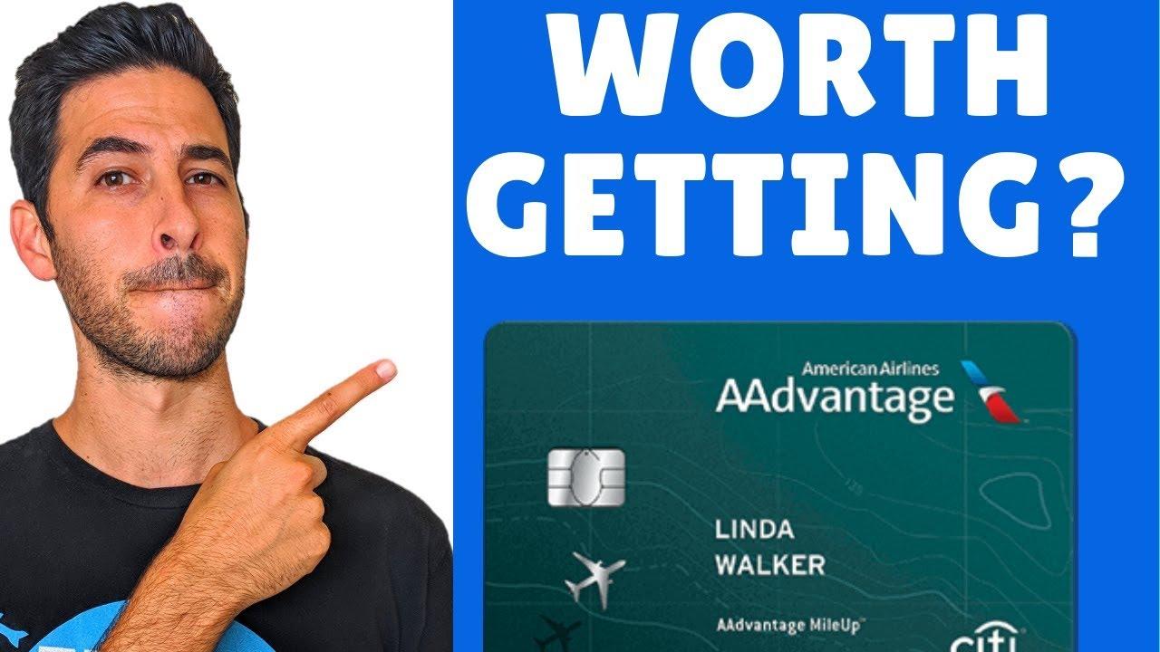 Citi AAdvantage MileUp Credit Card Review  Free $13 + American Airline  Miles