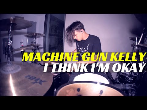 Machine Gun Kelly, Yungblud & Travis Barker - I Think I'm OKAY | Matt McGuire Drum Cover