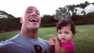 Dwayne Johnson Adorably Sings to Daughter Jasmine on Her First Birthday -- See the Sweet Moment!
