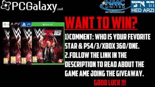 WWE 2K16 PS3/PS3/XBOX 360/XBOX ONE Giveaway by NMC United