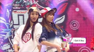"130201 Yulsic moment - ""Look at her, look"" (I Got A Boy)"