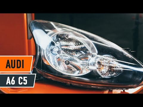 How to replace a headlight on AUDI A6 C5TUTORIAL | AUTODOC