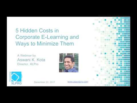 5 Hidden Costs in Corporate E-Learning & Ways to Minimize Them