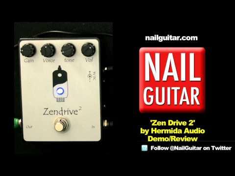 'ZenDrive 2' Stomp Box Demo & Review - Herminda Audio Overdrive Distortion Guitar Pedal