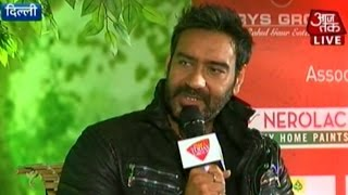 Agenda Aaj Tak: Ajay Devgn talks about his famous movie roles