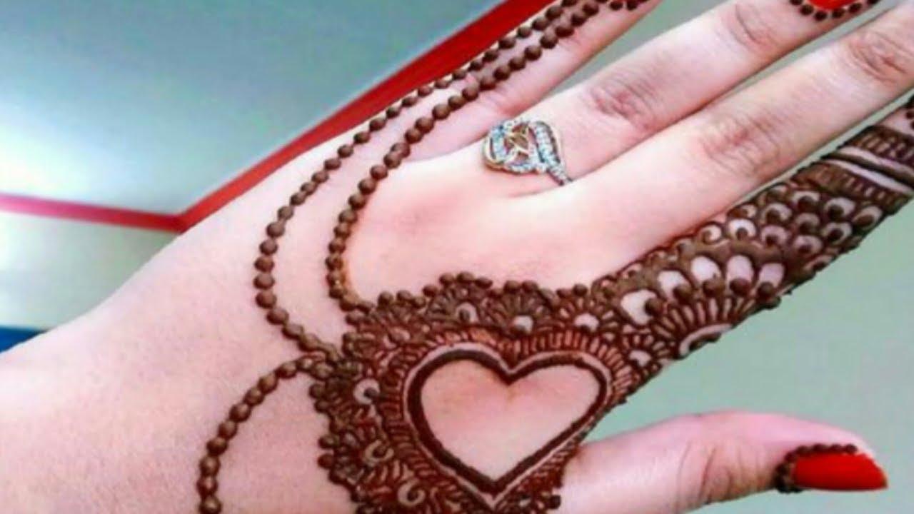 Amazing Heart Shape Jewellery Mehndi Design Mehndi Design À¤œ À¤µ À¤²à¤° À¤® À¤¹ À¤¦ À¤¡ À¤œ À¤‡à¤¨ Youtube