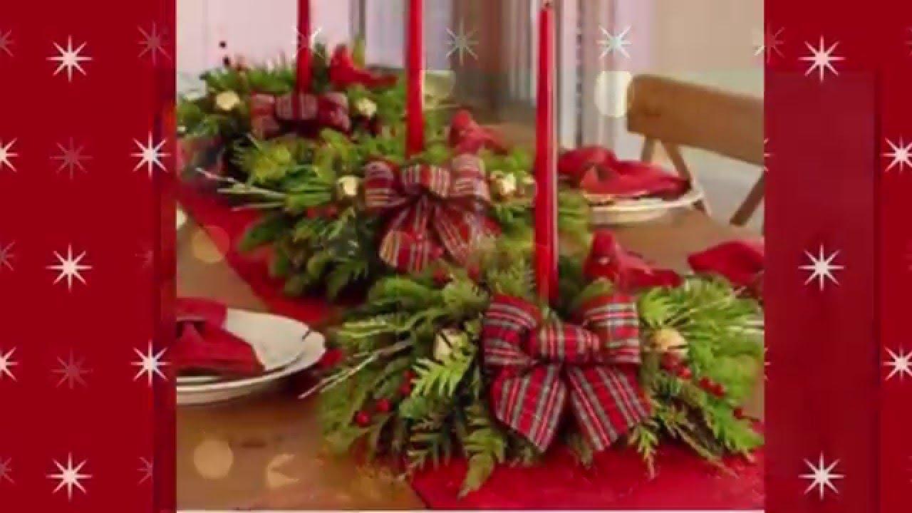 Centros de mesa para navidad christmas centerpieces youtube - Centros navidenos de mesa ...