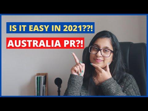Is it easy to get Australian PR in 2021?!