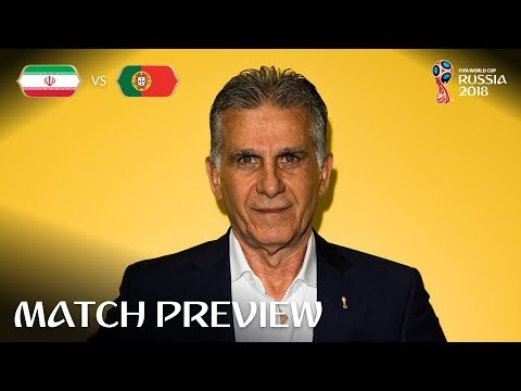 Carlos Queiroz (IR Iran) - Match 35 Preview - 2018 FIFA World Cup™