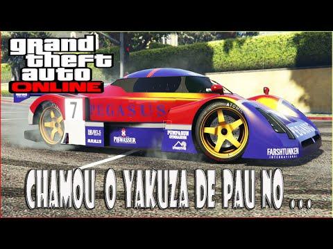 GTA V - SinX chamou o yakuza de pau no . . . / corrida com uns manos firmeza