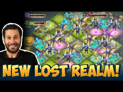 New Update Lost Realm ALL Demons At Once New Rewards Castle Clash