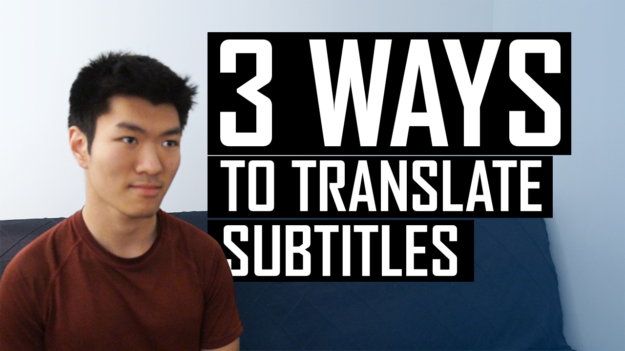 How to Easily Translate Movie Subtitles Everywhere - YouTube