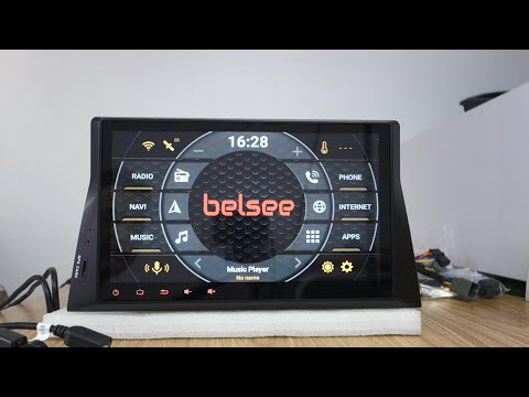 Belsee 10.1 Touch Screen Android 9.0 Radio Honda Accord 8 Inspire Crosstour 2008 2009 2010 2011 2012