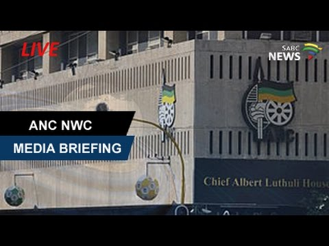 ANC National Working Committee Media Briefing, 5 April 2017