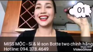Son BOTTE Hàn Quốc chính hãng - Chị Ốc Thanh Vân review