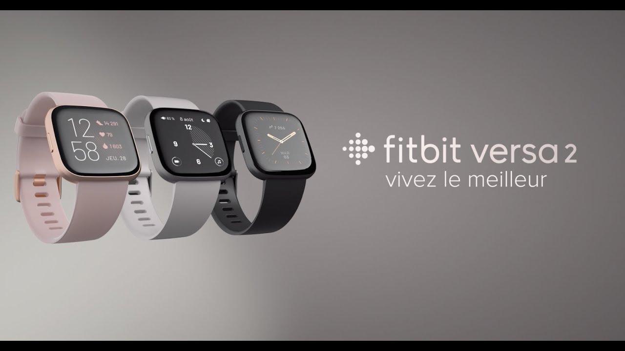 Fitbit lance une Versa 2 compatible Alexa et un nouvel