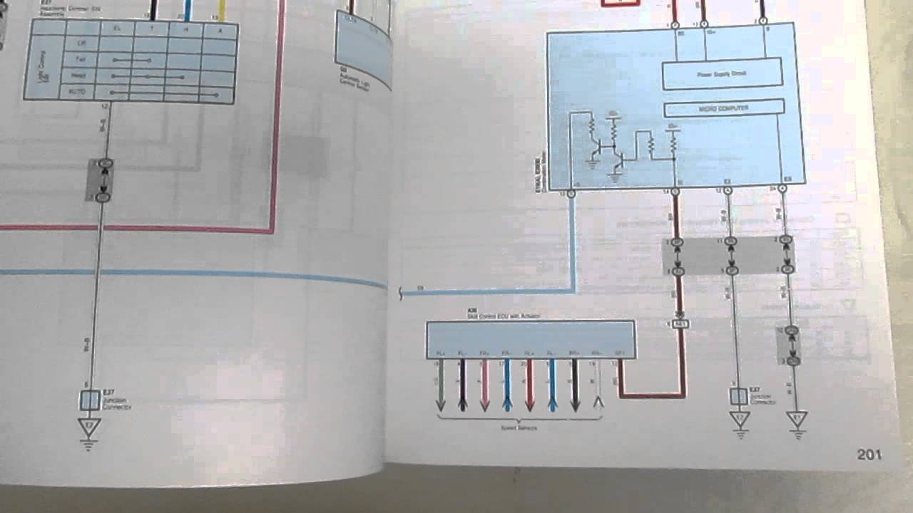 Lexus es electrical wiring diagrams manual