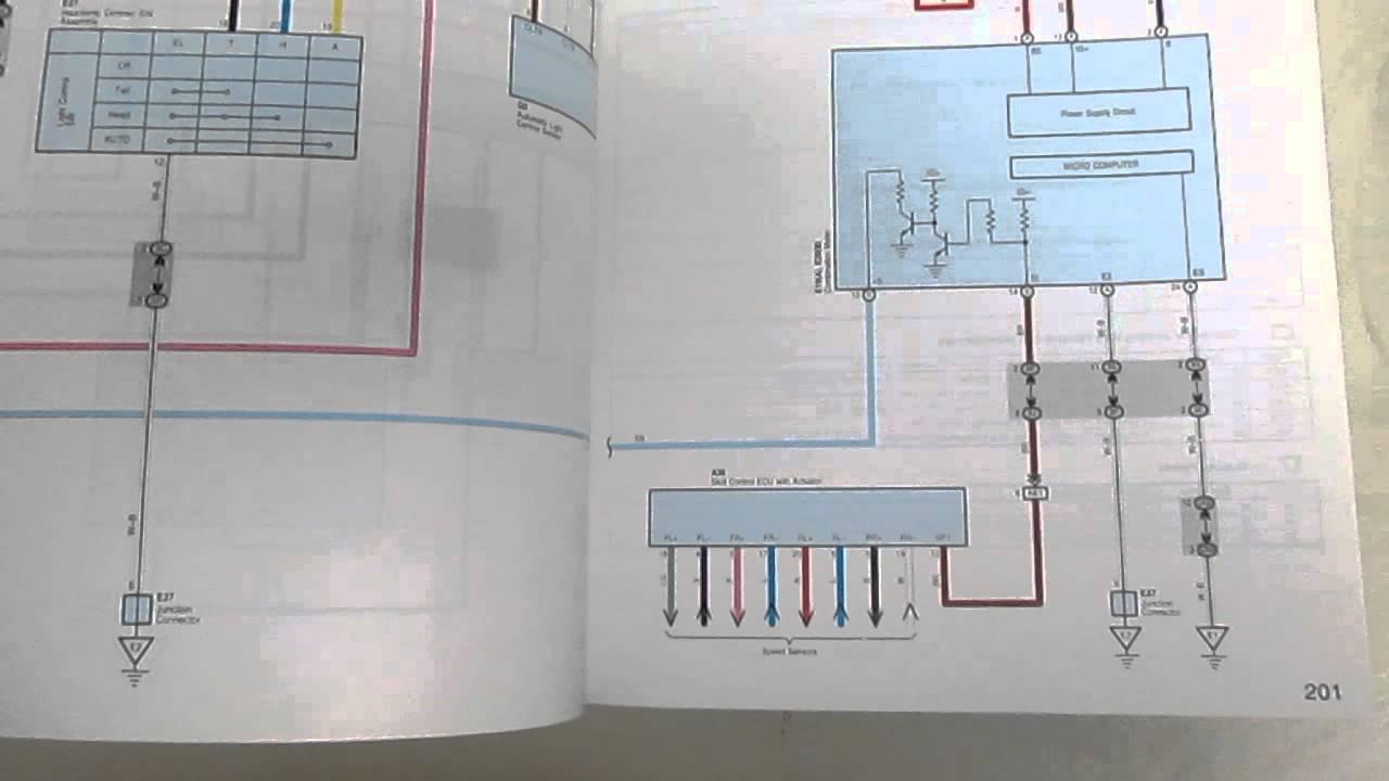 2009 Lexus ES 350 Electrical Wiring Diagrams Manual