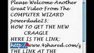 Attention: New Craagle & Download Link