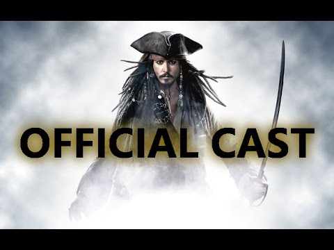 Pirates Of The Caribbean 5: Dead Men Tell No Tales Official Cast