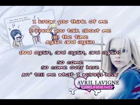 Avril Lavigne - Girlfriend Karaoke / Instrumental HQ