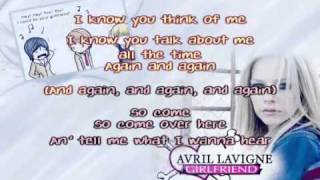 Avril Lavigne - Girlfriend Karaoke / Instrumental HQ