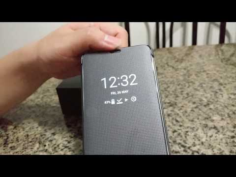 LG G6 H870DS Ice Platinum Free Quick Cover Case Review!