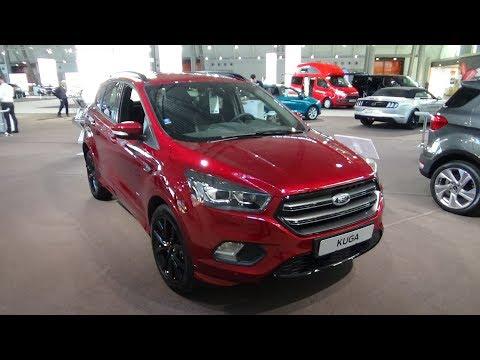 2019 Ford Kuga ST-Line 2.0 TDCI 180 - Exterior and Interior – Autotage Stuttgart 2018