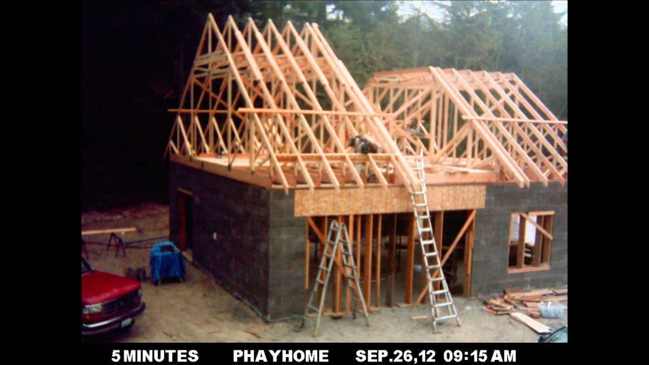 Second floor framing youtube for How to build a floor for a house