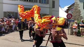 Lenzburger Jugendfest Freischarenmanöver 2018 - Piraten, Chinesen