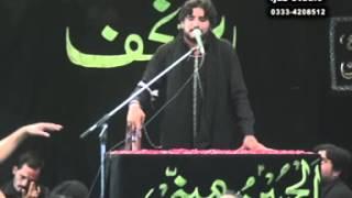zakir syed imran haider kazmi Reza e najaf 09 Muharram 2013