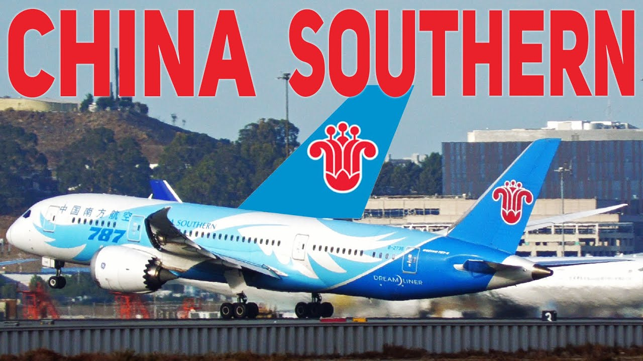 Download [4K] China Southern Boeing 787-8 Dreamliner B-2735 Takeoff from San Francisco International Airport