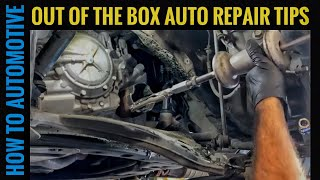 4 Out of the Box Automotive Repair Tip to Get the Job Done