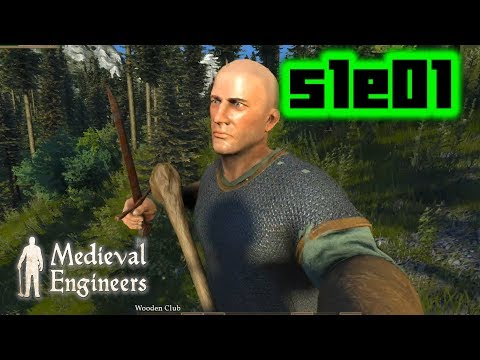 Home Sweet Home - Medieval Engineers S1E01