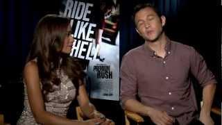 Premium Rush - Interview with Joseph Gordon-Levitt and Dania Ramirez